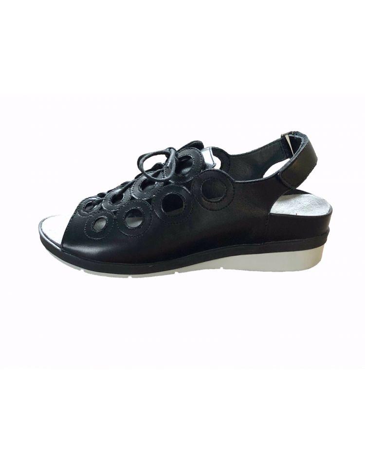 9356-61-30_2765 Hetty sandaal zwart